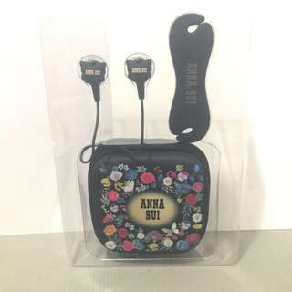 Anna Sui Earphone with case