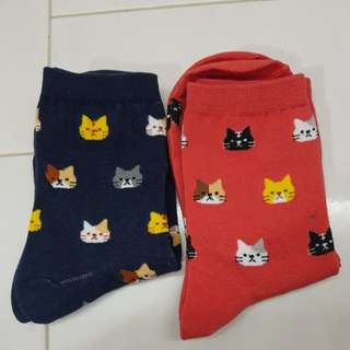 [INSTOCK] Korean Cat Socks