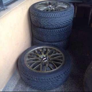 4 Tires for Sedan