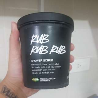Lush Rub Rub Rub Body Scrub