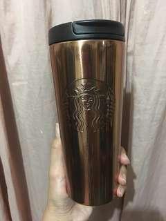 Starbucks Copper Stainless Steel Tumbler