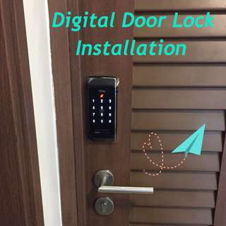 Installation Digital Door Lock