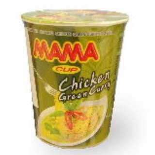 MAMA 泰國青咖哩雞湯杯麵