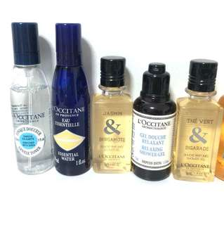 L'OCCITANE various products