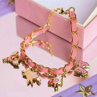 Card Captor Sakura Charm Bracelet