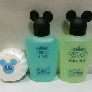 🆕Brand New Disney Mickey Mouse Bath Gel + Hair Conditioning Shampoo  + Soap