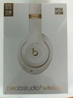 Beats studio3 wireless special edition