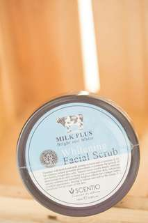 Mill facial scrub