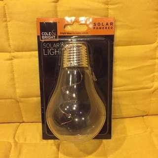 Light Solar powered