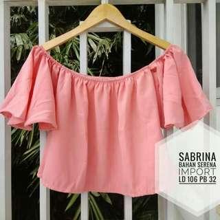 Sabrina crop