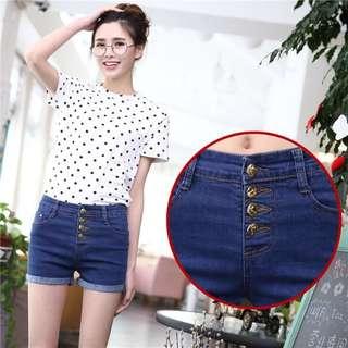 Korean Short Denim Jeans