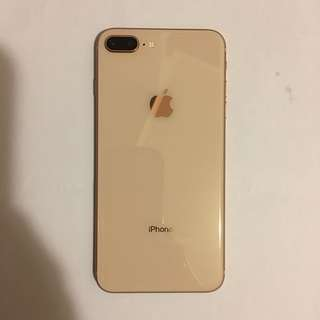 IPhone 8 plus (256GB) 金色