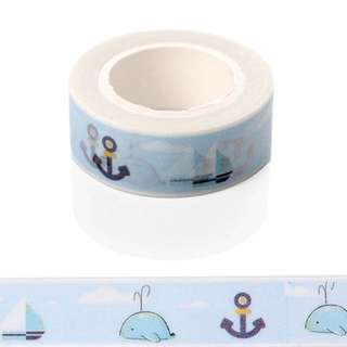 Washi Tape Nautical Design