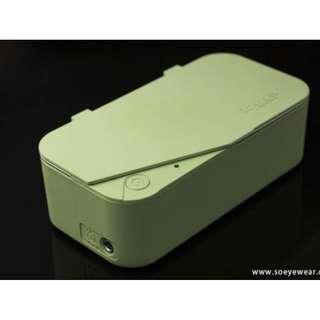 Smartclean - 「亮睛睛」超聲波眼鏡清洗機Vison.5 (綠)