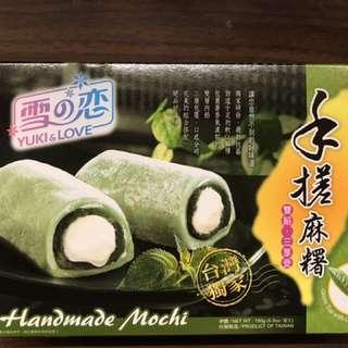 手搓麻糬 綠茶