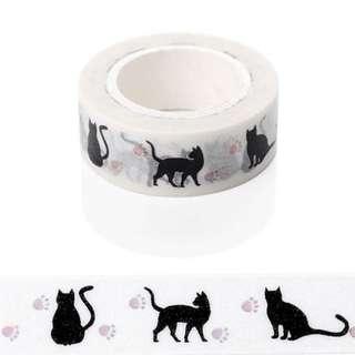 Washi Tape Cat Design