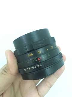 Helios 58mm f2 44-2 M for Sony