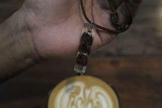 Kalung kopi, pendant coffee