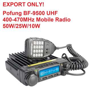 Baofeng BF-9500 Pofung UHF 400-470MHz 200CH CTCSS/DCS/DTMF Transceiver, 50W/25W/10W Car Mobile Vehicle Radio