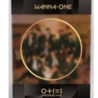 WANNAONE I PROMISE YOU PREORDER