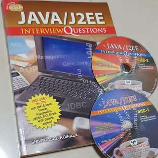Java/J2EE Interview Questions includes 2CDs