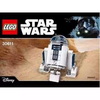 Lego Star Wars R2-D2 Polybag (30611)