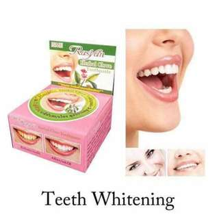 Rasyan Teeth Whitening Toothpaste (Free Shipping)