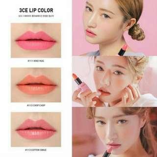 *Authentic* 3CE Barbapapa Lipsticks 💄