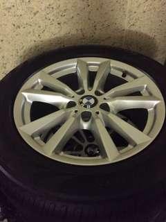 "X5 18"" wheel+tyre"
