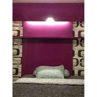 Unit type Studio bulanan full furnish