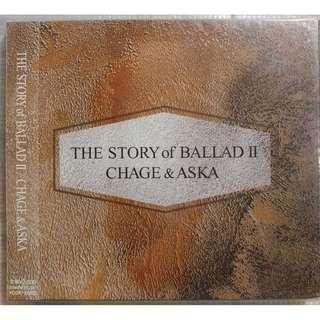 全新未拆 CHAGE and ASKA《The Story of Ballad II》精選 日版(包平郵)