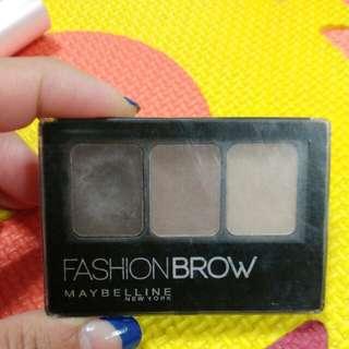🚚 Maybelline 眉膠 眉粉 #darkbrown