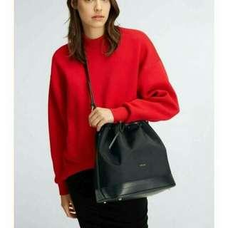 DKNY Nylon Drawstring Bucket Bag
