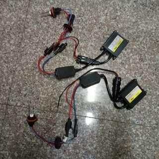 汽車改裝精品~HID霧燈組