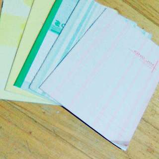 Assorted Notebooks get 5 pcs School Supply