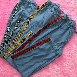 Jeans riped