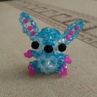 Stitch Beads Keychain