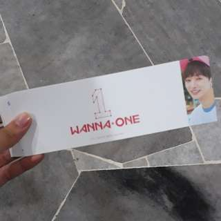 WANNA ONE OFFICIAL JISUNG SLEEVE