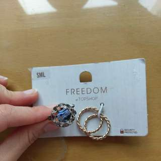 New and authentic Topshop ring