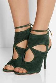 Aquazzura (dark green color)