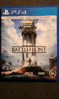 PS4 Starwars Battlefront