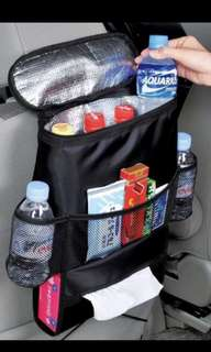 Multifunction Car Seat Organiser, Thermal Bag Waterproof Baby Feeding Bottle