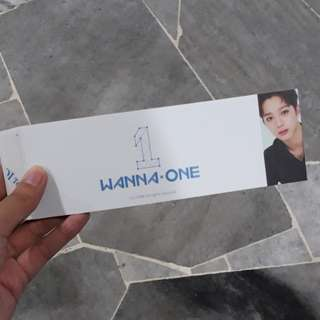 WANNA ONE OFFICIAL GUANLIN SLEEVE