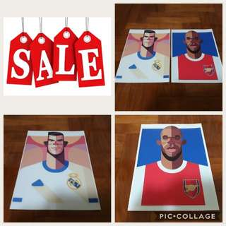 🔥SALE: Football Superstars Art Print