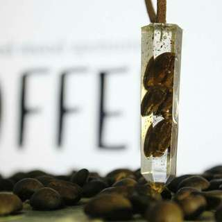 Coffee pendant, kalung kopi