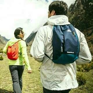 Tas punggung quechua arpenaz 10 l original