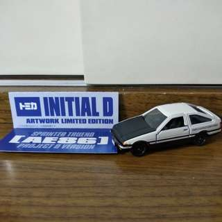 TOMY TOMICA INITIAL D AE86