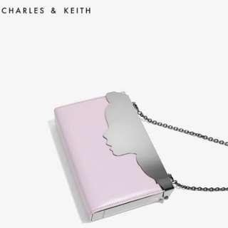 Charles & Keith 迪士尼 愛麗絲 手袋 晚宴袋 謝師宴