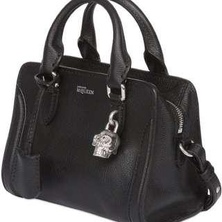 Alexander McQueen Mini Padlock Zip Satchel Bag