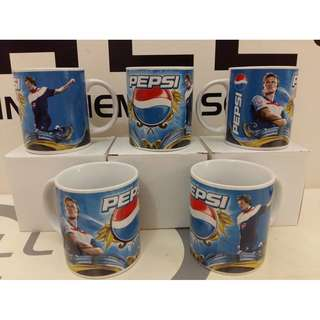 PEPSI Mug David Beckham Original Limited Edition